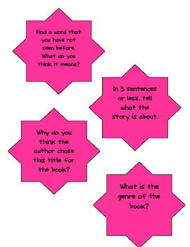 Common Core Guided Reading Questions