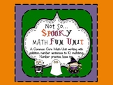 Common Core HALLOWEEN Math Unit 1-20, number sentences, base ten, games)