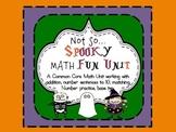 Common Core HALLOWEEN Math Unit 1-20, number sentences, ba