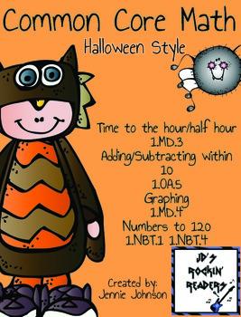 Common Core Halloween Math Activities