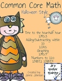 Common Core Halloween Math Activities