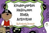 Common Core Halloween Math for Kindergarten!