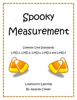 Common Core Halloween Measurement Activity