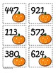Common Core Halloween Place Value Cards