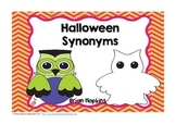 Common Core Halloween Synonyms