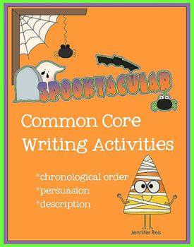 Common Core Halloween and Fall Writing Fun