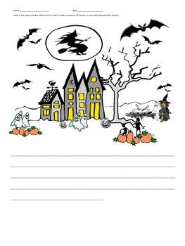 Common Core Halloween fun with CinderHazel