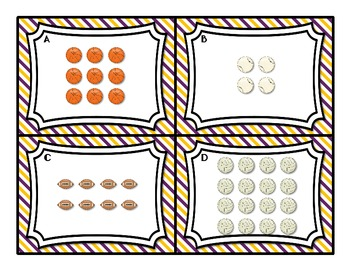 Common Core Having a Ball with Arrays 2.OA.4