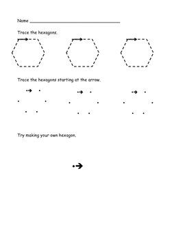 Common Core Hexagons