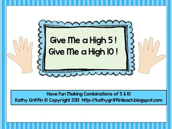 Common Core High Five High 10 Game