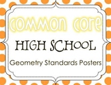 Common Core High School Geometry Standards Posters {Polka Dot Edition}