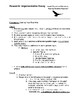 Common Core High School Research Project and Argumentative Essay