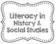 Common Core History/Social Studies Standards Poster Set {Grades 6-8}