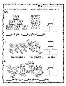 Common Core Holiday Math Pack {First Grade}