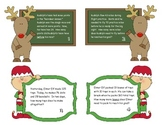 Common Core Holiday Math Task Cards Grades 2-3