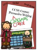 Christmas Center: Persuasive Writing Center