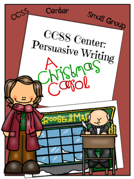 Christmas Center: Persuasive Writing Center