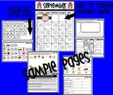 Common Core Homework Packet for September