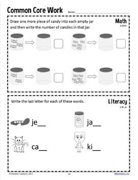Homework for First Grade Common Core