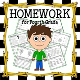 Homework for Fourth Grade Common Core