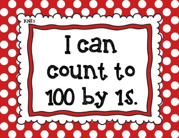 "Common Core ""I Can"" Posters"