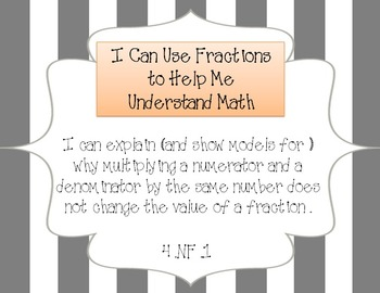 "Common Core Standards / ""I Can"" Statements - Fourth Grade"
