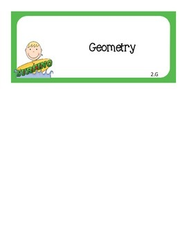 Common Core I Can Statements Math Grade 2 Surfing