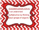 "Common Core ""I Can"" Statements Posters--3rd grade--Math--Chevron pattern"