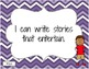 """Common Core """"I Can"""" Statements - Second Grade"""