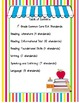 I Can Statements & Standards for 80 ELA Common Core Standards for First Grade
