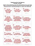 "Common Core ""I Can"" Task Cards - First Grade"
