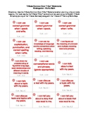 "Common Core ""I Can"" Task Cards - Kindergarten"