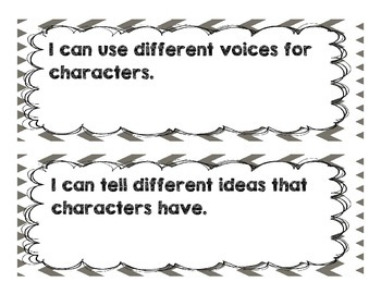 Common Core I can statements for 2nd grade