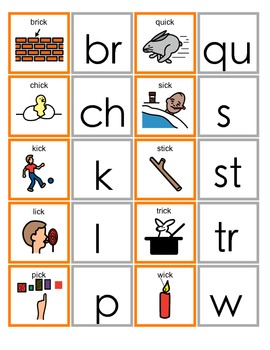 Common Core ICK Word Family Activity for Language Arts