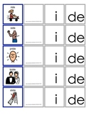 Common Core IDE, ICK, ICE  Word Family Activities for Language Arts