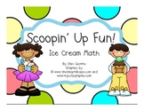 Common Core:  Ice Cream Math (Addition, Subtraction, Fact