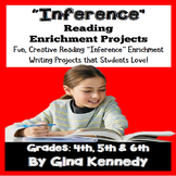 Inference Projects, Reading and Writing Enrichment Projects