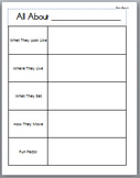 Common Core - Informative Writing - First Grade
