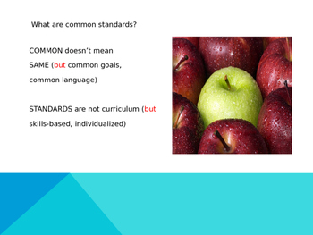Common Core ~ Instructional Shifts for the Common Core POWERPOINT