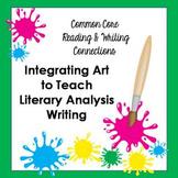 Common Core: Integrating Art to Teach Literary Analysis Writing