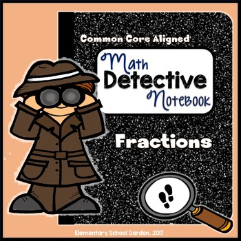 Common Core Interactive Math Notebook - Fractions