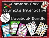 Common Core Interactive Notebooks-Ultimate Bundle