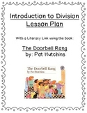 Common Core Intro to Division Lesson Plan - Differentiated- The Doorbell Rang