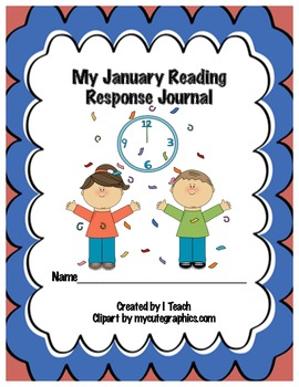 Common Core January Reading Response Journal