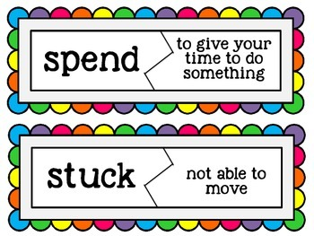 Common Core Journey's My Family Unit 1.2 Spelling & Vocabulary Activities