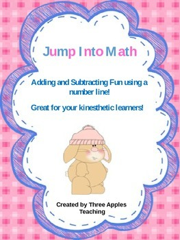Common Core:  Jump Into Math-using a number line for addition and subtraction