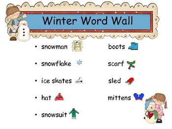 Common Core: K & 1st Grade Winter Literacy Activities