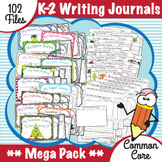 Common Core K-2 Writing Journals ***MEGA PACK***