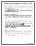 Common Core K-4 Mathematics Guiding Questions