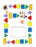 Common Core-K-Literacy Game:Syllables, Begin. & End. Sounds, Blend & Segment (3)